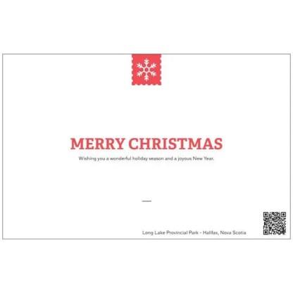 long lake park christmas card halifax