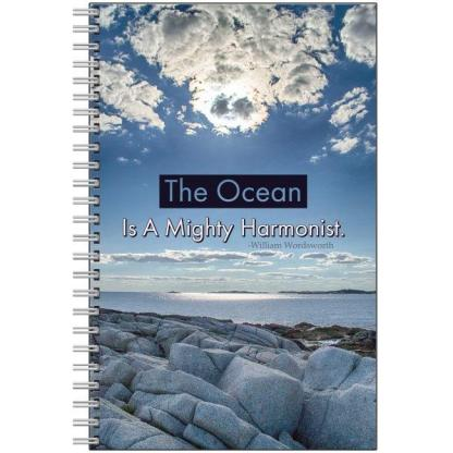 notebook the ocean is a mighty harmonist nova scotia