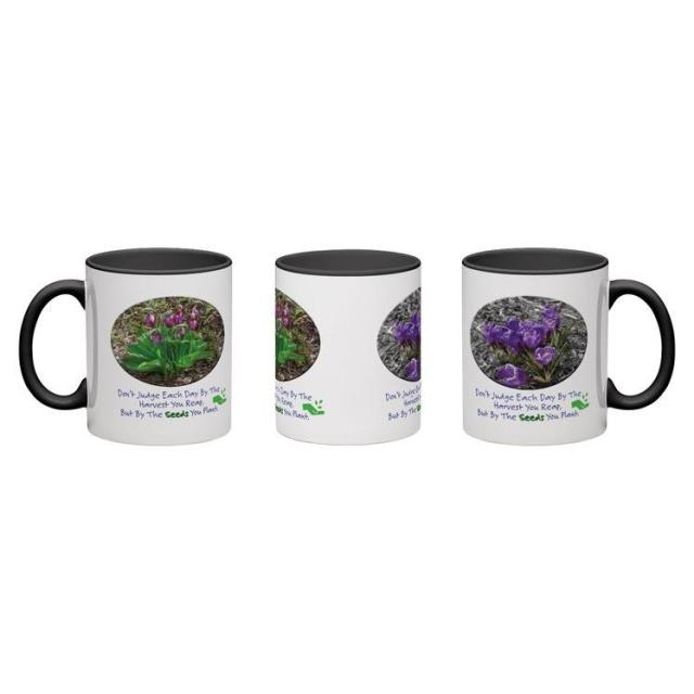 coffee mug 11 oz harvest seeds you plant