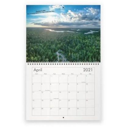 2021 wall calendar - halifax, nova scotia