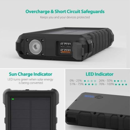 Waterproof Solar Battery Bank