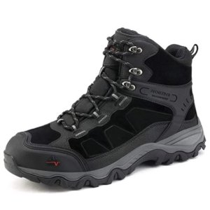 NORTIV 8 Men's Waterproof Hiking Boots Outdoor Mountaineering Trekking Mid Backpacking Shoes