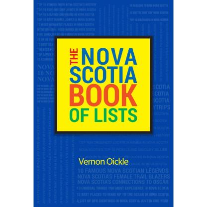 Nova Scotia Book of Lists