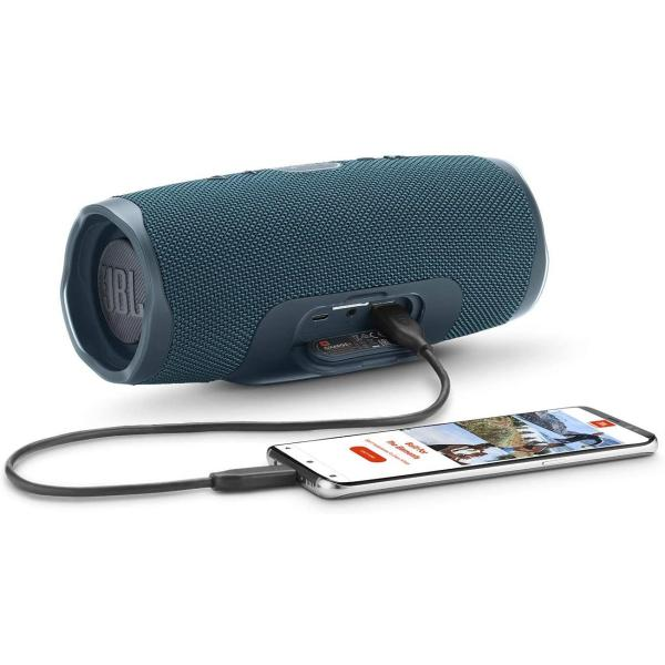 JBL Charge 4 Portable Waterproof Wireless Bluetooth Speaker with up to 20 Hours of Battery Life