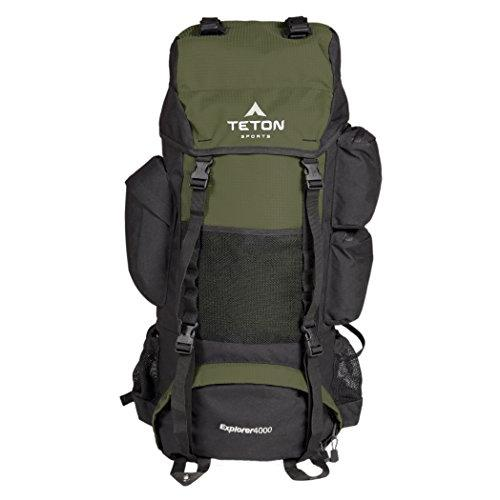 TETON Sports Explorer 4000 Internal Frame Backpackv