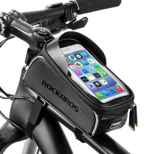 Bike Frame Bag & Smartphone Mount