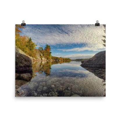 Fox Lake Blue Mountain Birch Cove Lakes Halifax Nova Scotia Photo Prints