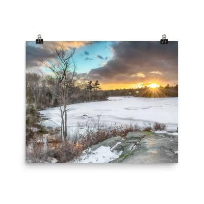 Long Lake Provincial Park Halifax Nova Scotia Photo Print