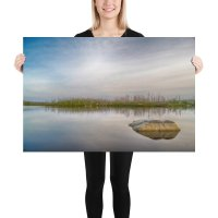 "Photo Print ""Flat Lake"" - Purcell's Cove Backlands"