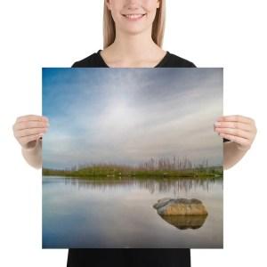 Purcell's Cove Backlands Flat Lake Photo Print Halifax Nova Scotia