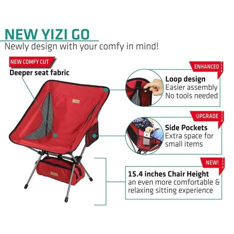Lightweight Backpacker's Chair