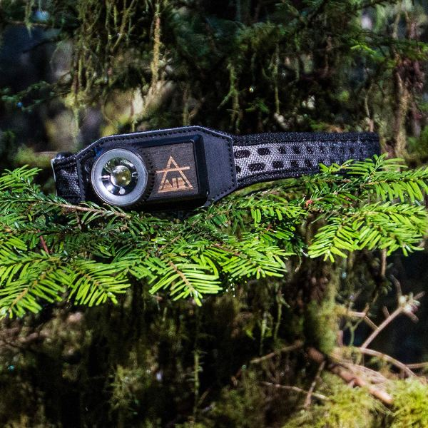 UCO Air 150 Lumen Lightweight Rechargeable LED Headlamp Variable Brightness Dial Control Adjustable Strap