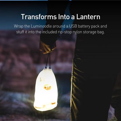 Luminoodle - Portable LED Light Rope and Lantern