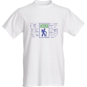 hiking shirt t-shirt hike