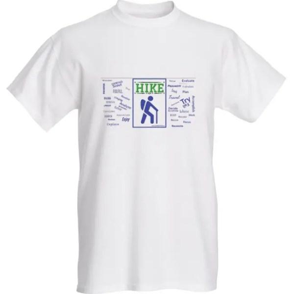 hiking shirt t-shirt hike