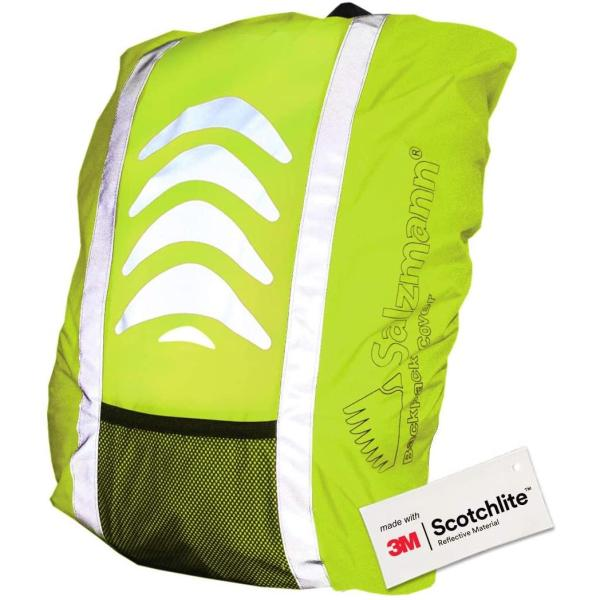Salzmann 3M Reflective Backpack Cover | High Visibility, Waterproof & Weatherproof