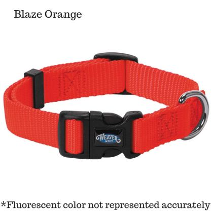 Nylon Prism Snap-N-Go Collar blaze orange