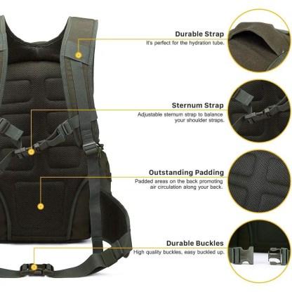 35L Tactical Backpack