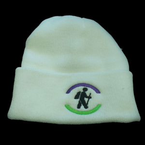 hiking hiker beanie toque winter hat