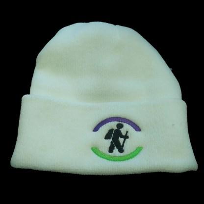 hiking hiker beanie toque winter hat