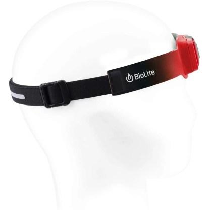 BioLite HeadLamp 200 Lumen No-Bounce Rechargeable Head Light