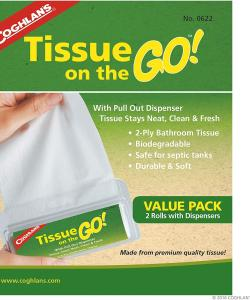 Coghlans Tissue On The Go