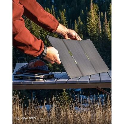 Goal Zero Nomad 20, Foldable Monocrystalline 20 Watt Solar Panel