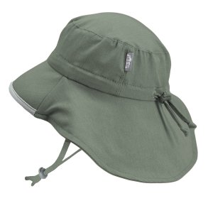 Jan & Jul Baby Toddler Kids Wide Brim 50+ UPF Sun-Hat with Neck Flap Chin-Strap Adjustable