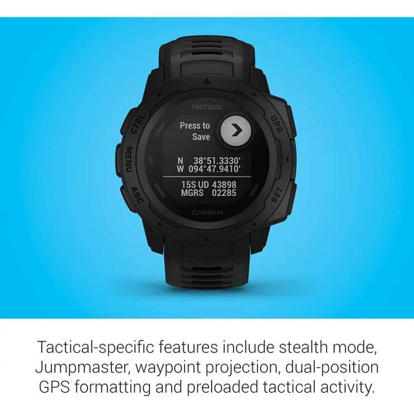 Garmin Instinct Tactical, Rugged GPS Watch