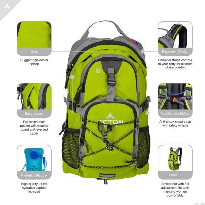 TETON Sports Oasis 1100 Hydration Backpack