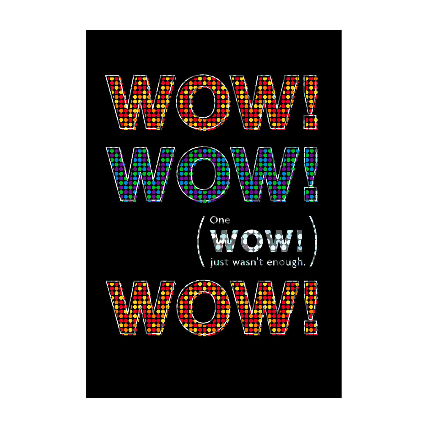 Triple Wow Appreciation Cards Hallmark Business Connections