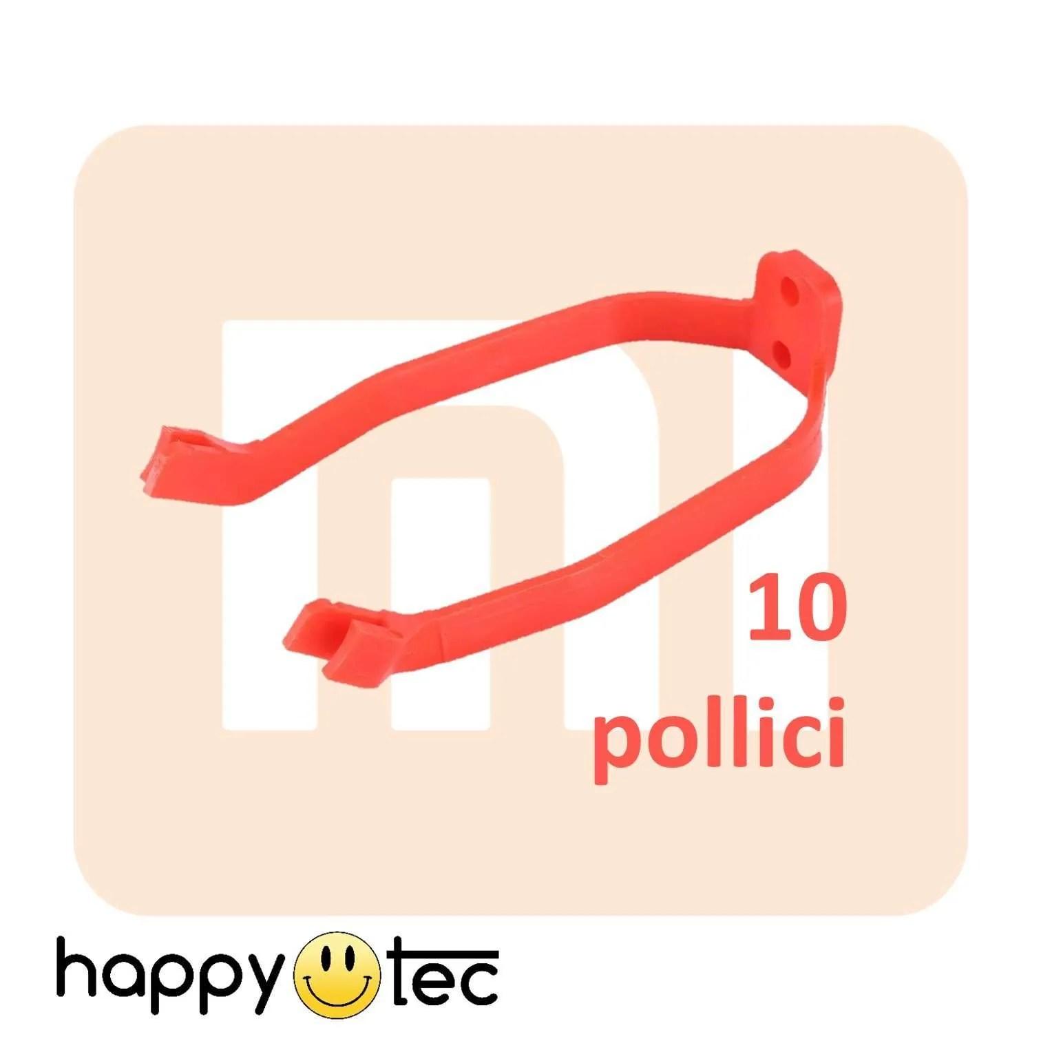Accessori per Xiaomi Staffa parafango posteriore da 10 Rosso
