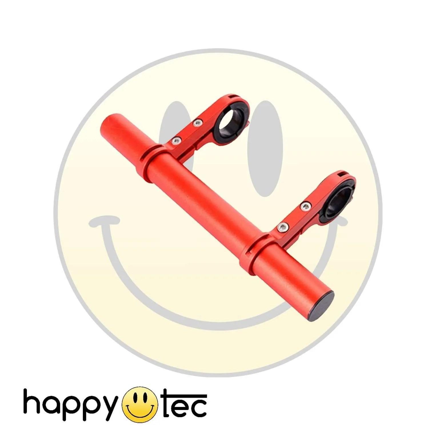 Accessori universali Estensore per manubrio monopattino Rosso