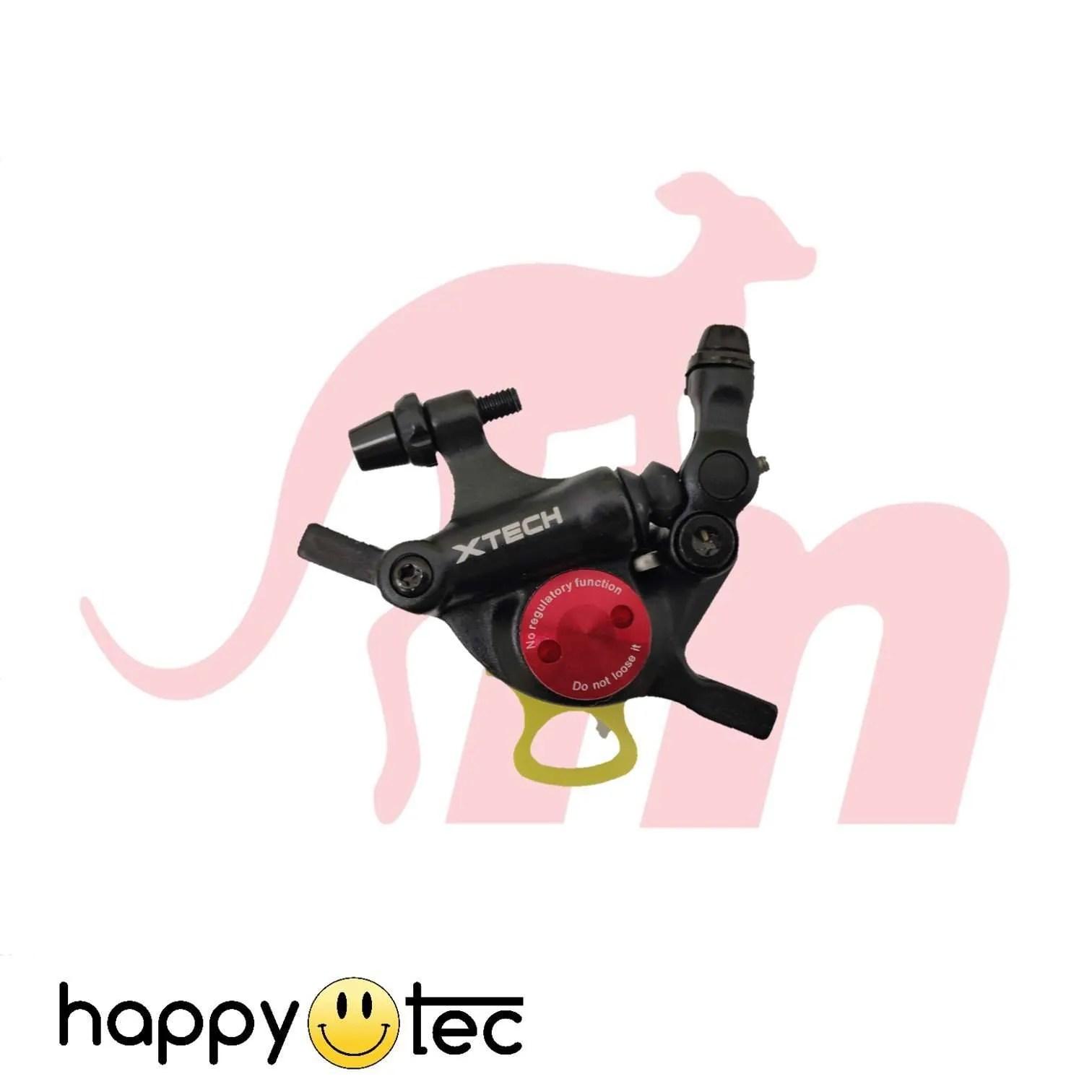 Monorim-Kit-pinza-freno-X-Tech-con-frame-di-supporto-Nero-1 ricambi accessori riparazione assistenza tecnica monopattini elettrici monorim