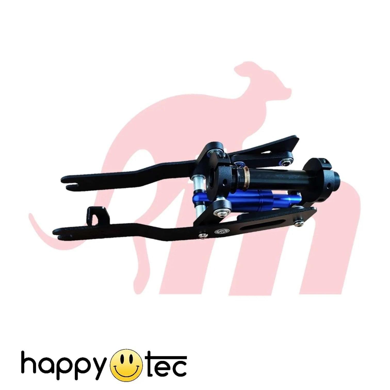 Ninebot G30 Max Ammortizzatore anteriore V2 by Monorim Nero e blu