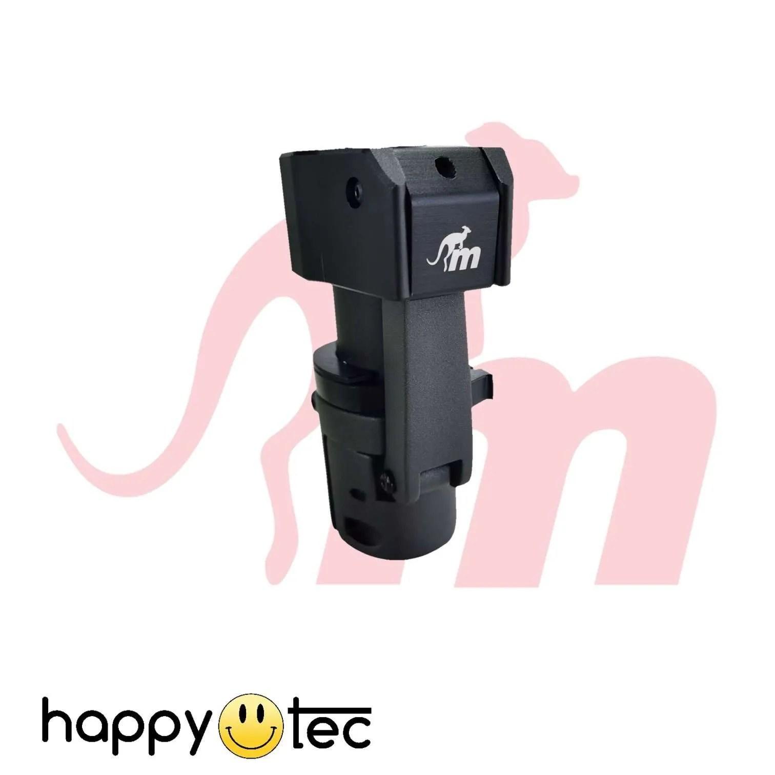 Ninebot-G30-Max-Sistema-di-bloccaggio-leva-asta-by-Monorim-Nero ricambi accessori riparazione assistenza tecnica monopattini elettrici monorim