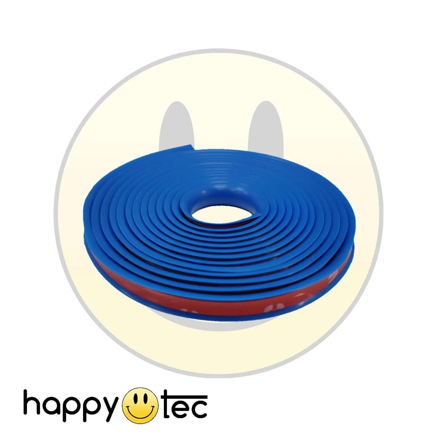 Striscia contorno bumper pedana monopattino Xiaomi blu