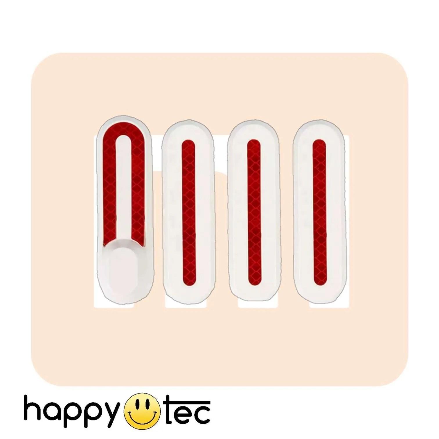 Kit-coperture-dadi-in-plastica-per-Xiaomi-M365-Bianco ricambi accessori riparazione assistenza tecnica monopattini elettrici monorim