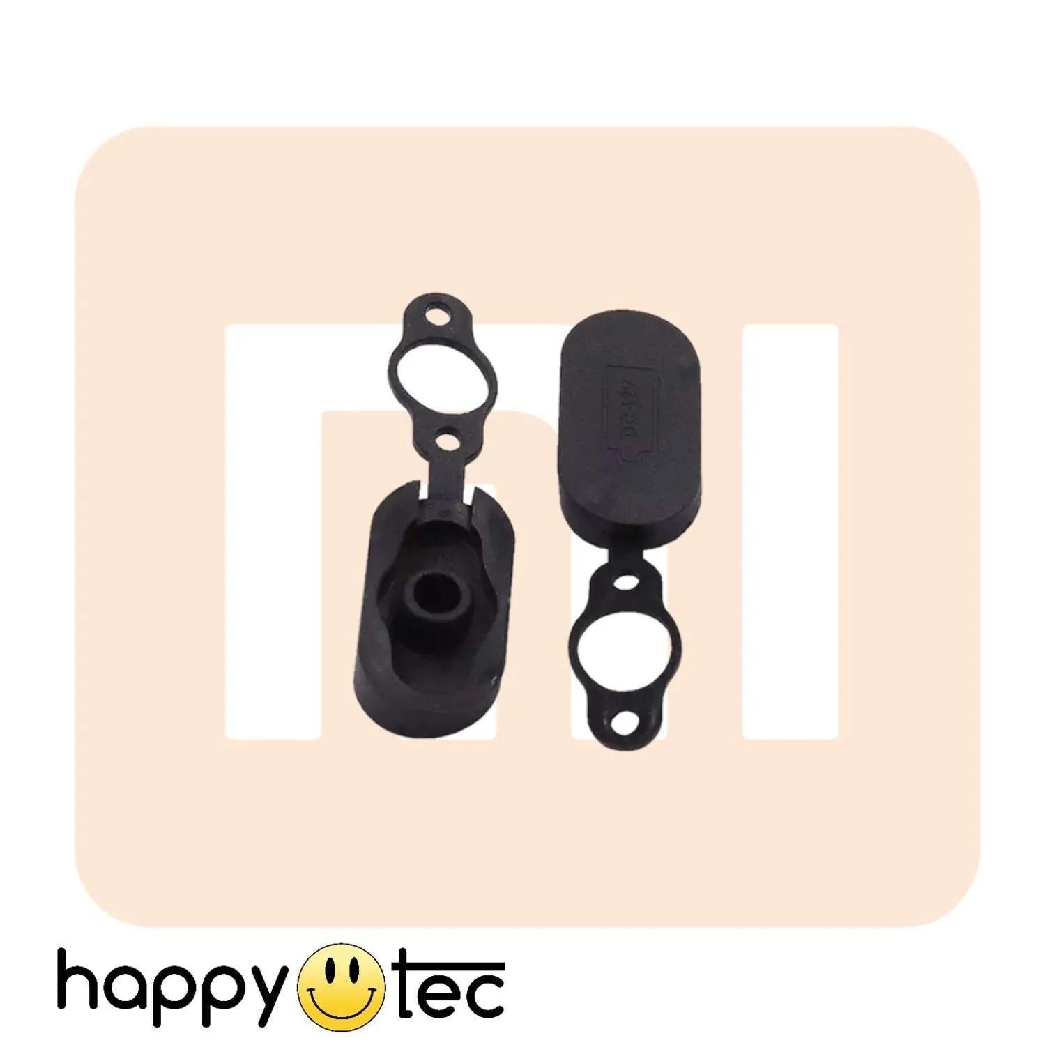 Xiaomi-M365-Gomma-presa-carica-Nero ricambi accessori riparazione assistenza tecnica monopattini elettrici monorim