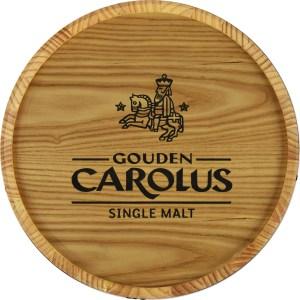 Tableau mural tonneau de whisky Gouden Carolus Single Malt