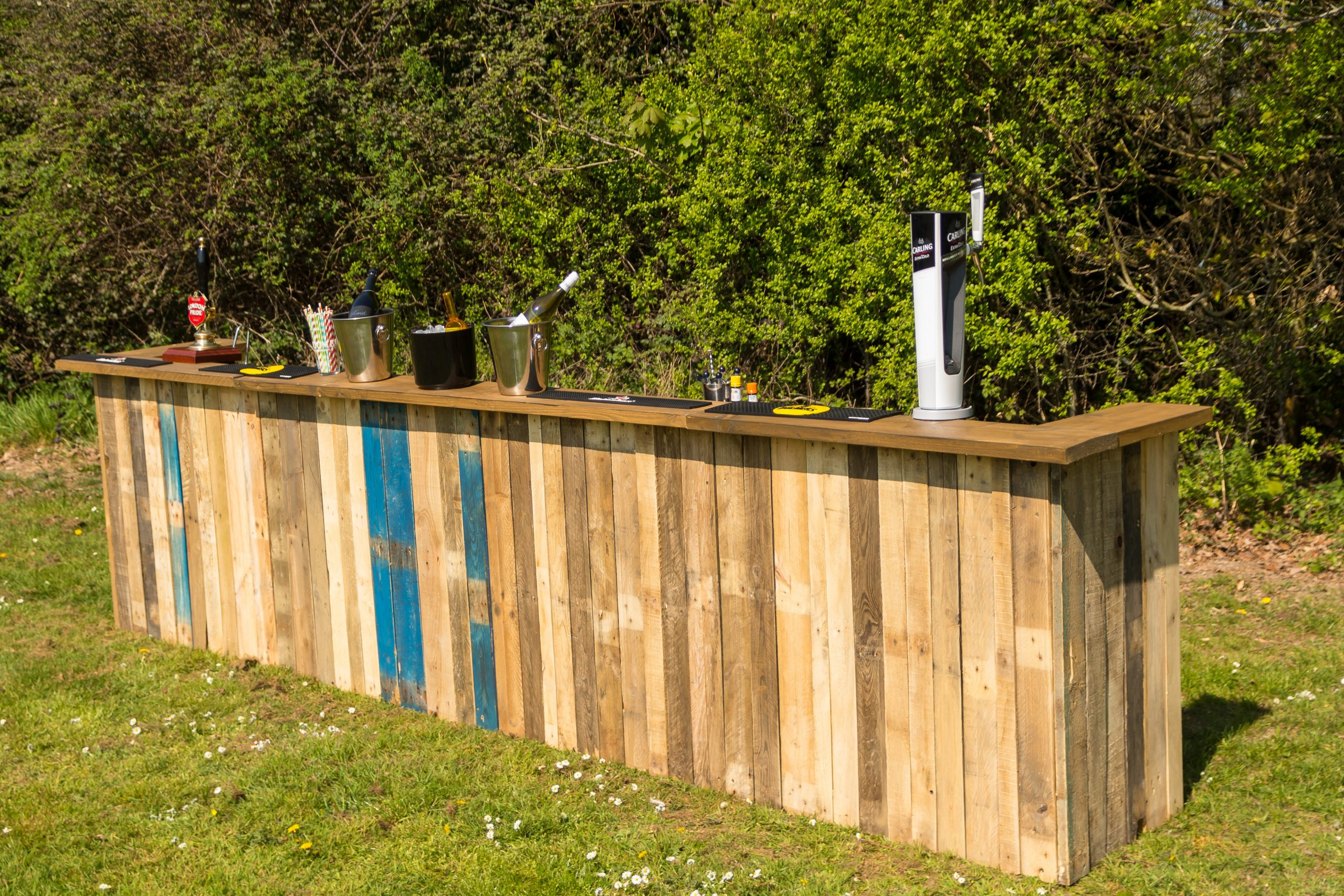 Rustic bars to hire