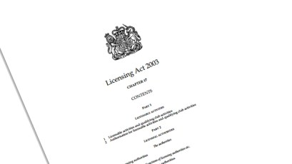 Licencing act