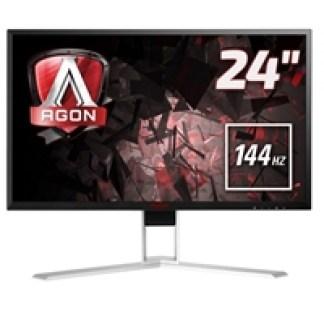 "AOC AG241QX 24"" 144Hz LED Widescreen VGA/DVI/ HDMI/Display Port Freesync 1ms Gaming Monitor"