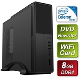 Small Form Factor Intel G5900 3.4GHz Dual Core 8GB RAM 512GB SSD wireless card - Pre-Built System