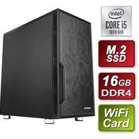Antec Intel 10th Gen i5-10400 Six Core 2.9GHz 16GB DDR4 RAM 1TB M.2 SSD Wi-Fi Prebuilt System