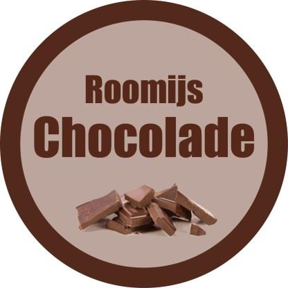 roomijs chocolae ijsster-Brugge