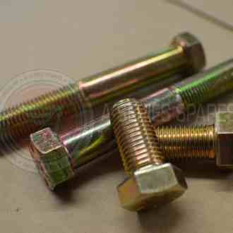Hexagon Head Bolts & Set Screws - Zinc Yellow SAE Grade 8