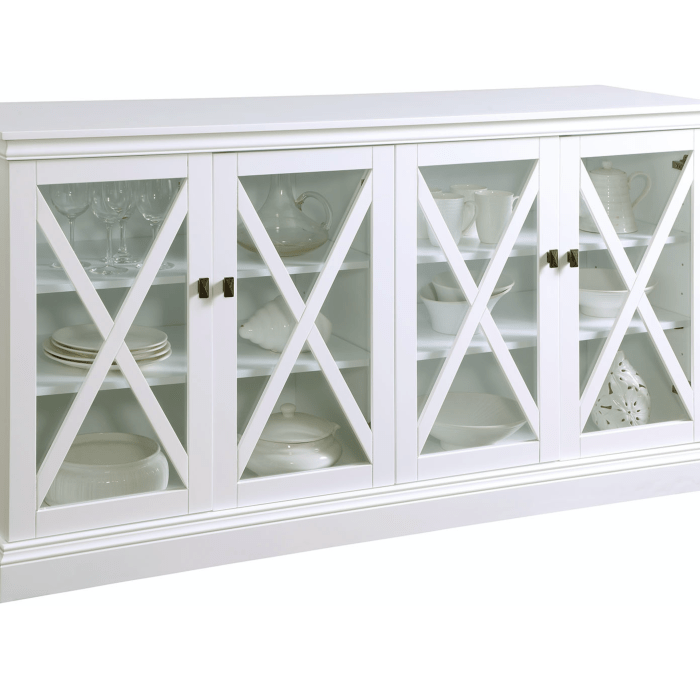 WESTHAM BUFFET TABLE WHITE