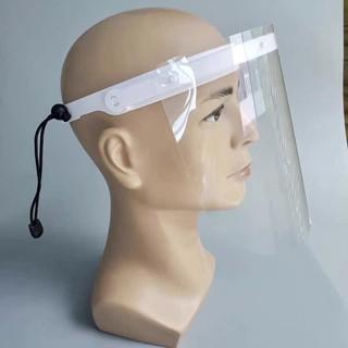 現貨不用等防疫面罩1支架+1面罩乾淨可替換塑膠片有雙層膜乾淨衛生