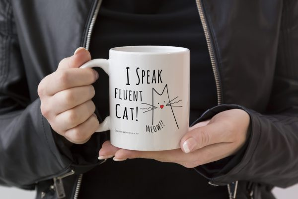 I Speak Fluent Cat Mug